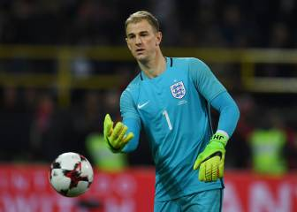 Joe Hart to captain England in qualifier against Lithuania