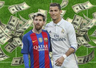 Cristiano Ronaldo tops Lionel Messi in 2016/17 earnings