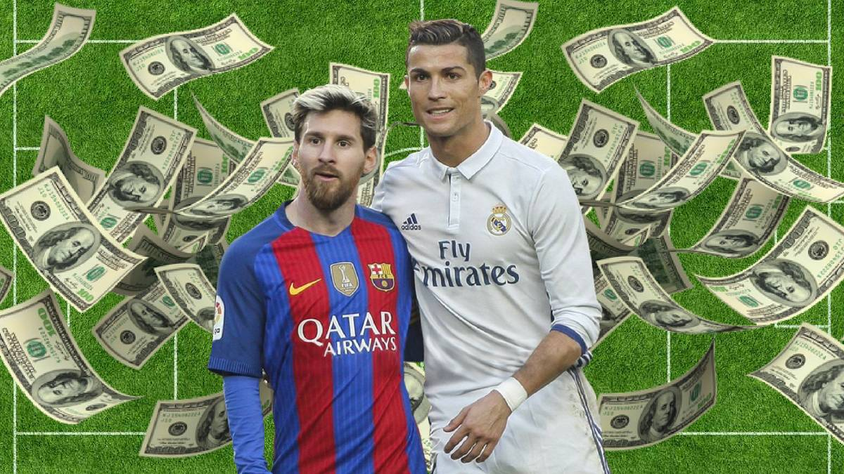 Cristiano Ronaldo Tops Lionel Messi In 2016 17 Earnings As Com