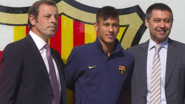 DIS attack Neymar and Barcelona over player transfer