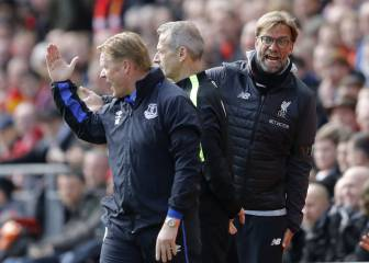 Koeman furious with Liverpool bench