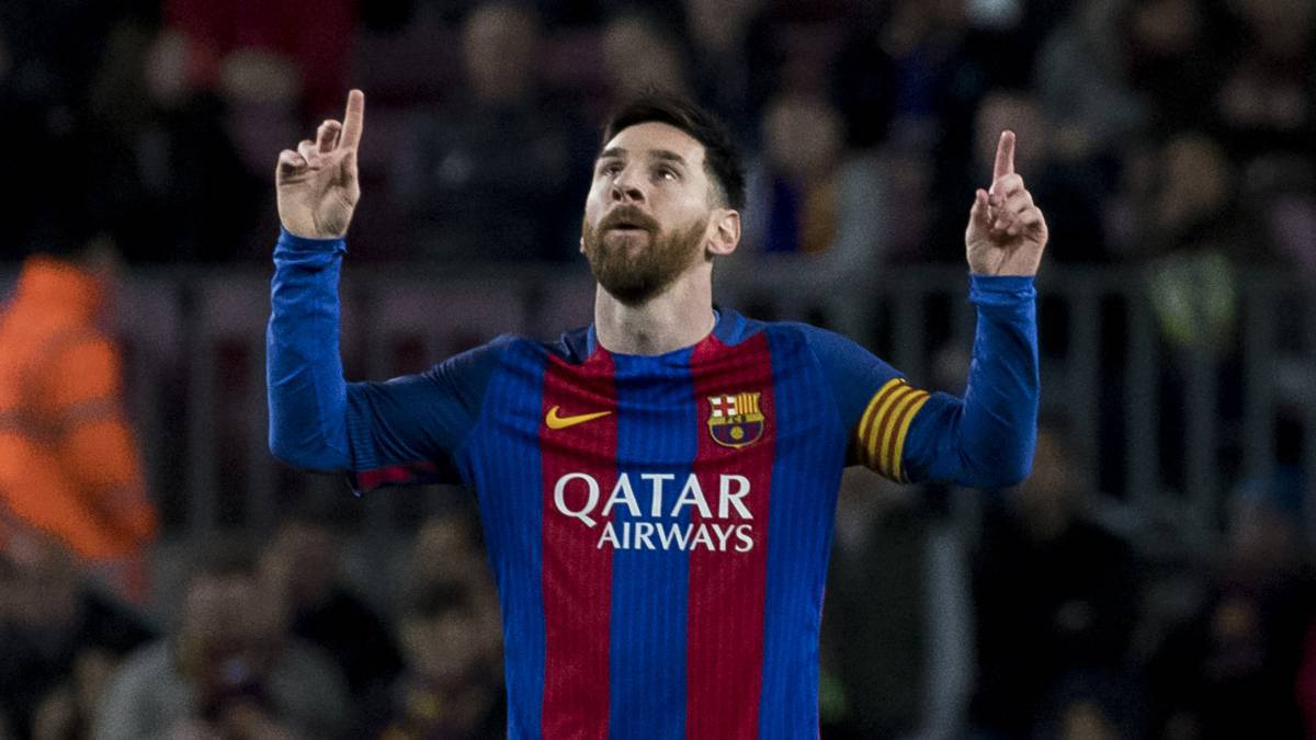 The heartwarming reason behind Lionel Messi's new celebration