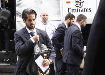 Real Madrid's arrival in Munich - in pictures