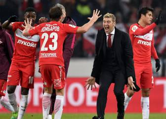 Spartak edge towards long-awaited Russian title