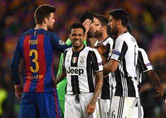 Juve dominant as Barça eased out of Champions League