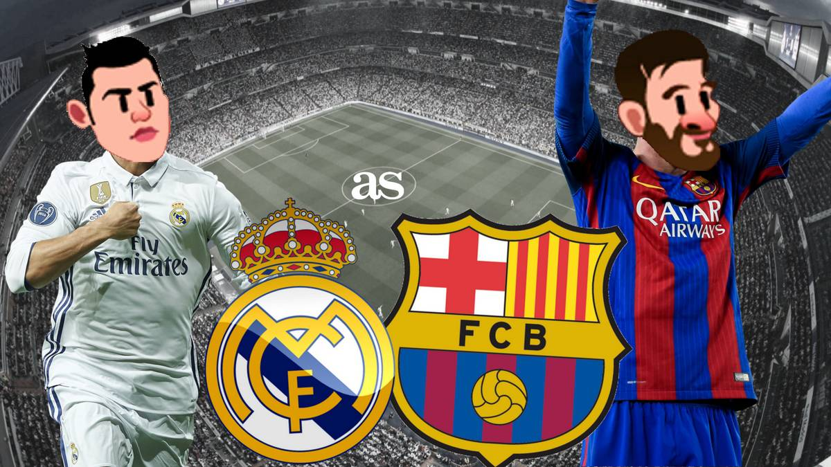 The social media network prepares ahead of Sunday's big LaLiga clash at the Santiago Bernabeu with a series of El Clasico inspired emojis with Messi, CR7