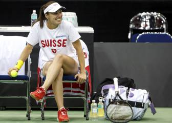Hingis hoping to end Fed Cup wait 19 years after first final