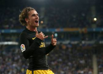 Griezmann gets Atlético out of a fix in Cornellà