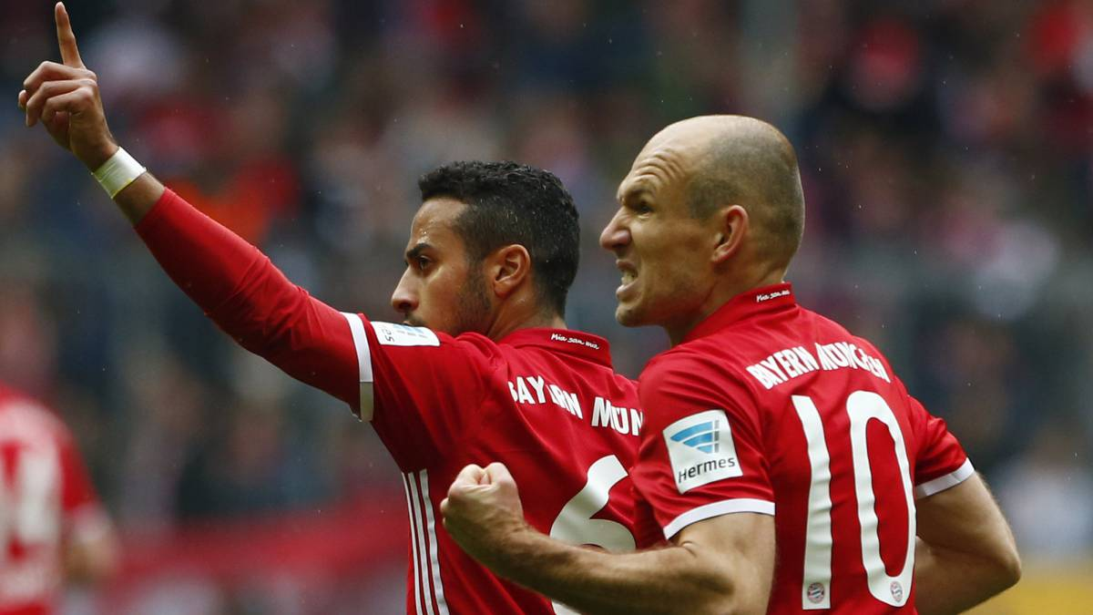 Thiago answers Bayern's call to earn home draw against Mainz