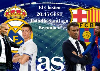 Real Madrid vs Barcelona: live