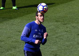 Bale and Alcácer start at the Bernabéu