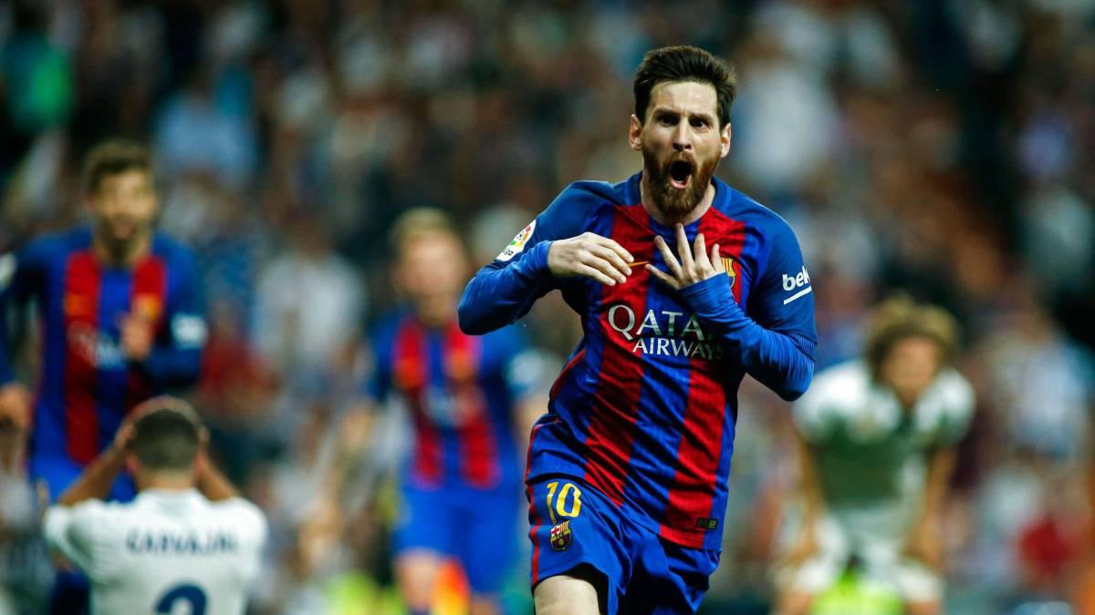 Last-gasp Messi seals memorable 'Clasico' win for Barcelona