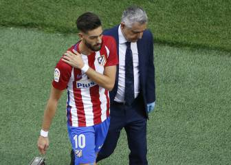 Carrasco taken to hospital after suffering collarbone injury
