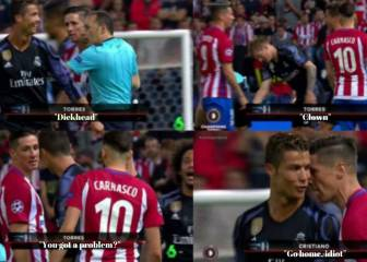 Cristiano and Torres trade insults: