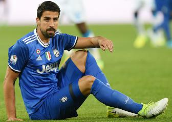 Khedira out of Coppa final and doubtful for Cardiff showpiece