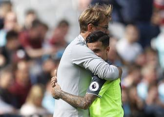 Coutinho: sublime display, two goals and a hug off the boss
