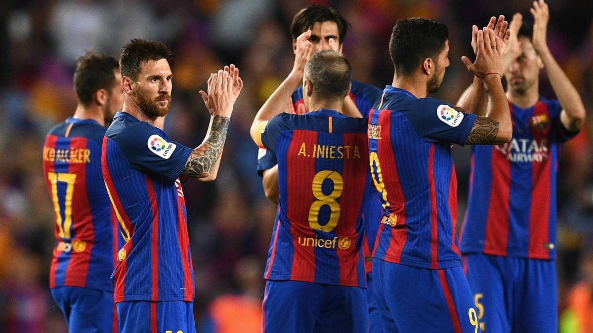 9c12d6bf501 Barcelona 4 - 2 Eibar: As it happened, goals, match report - AS.com