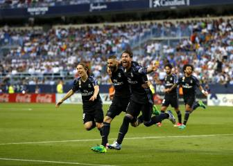 Real Madrid win LaLiga