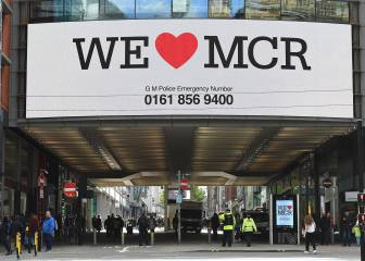 Footballing world reacts after Manchester attack