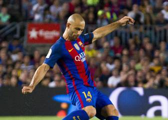 Barcelona v Alavés team news: Alcácer and Mascherano start