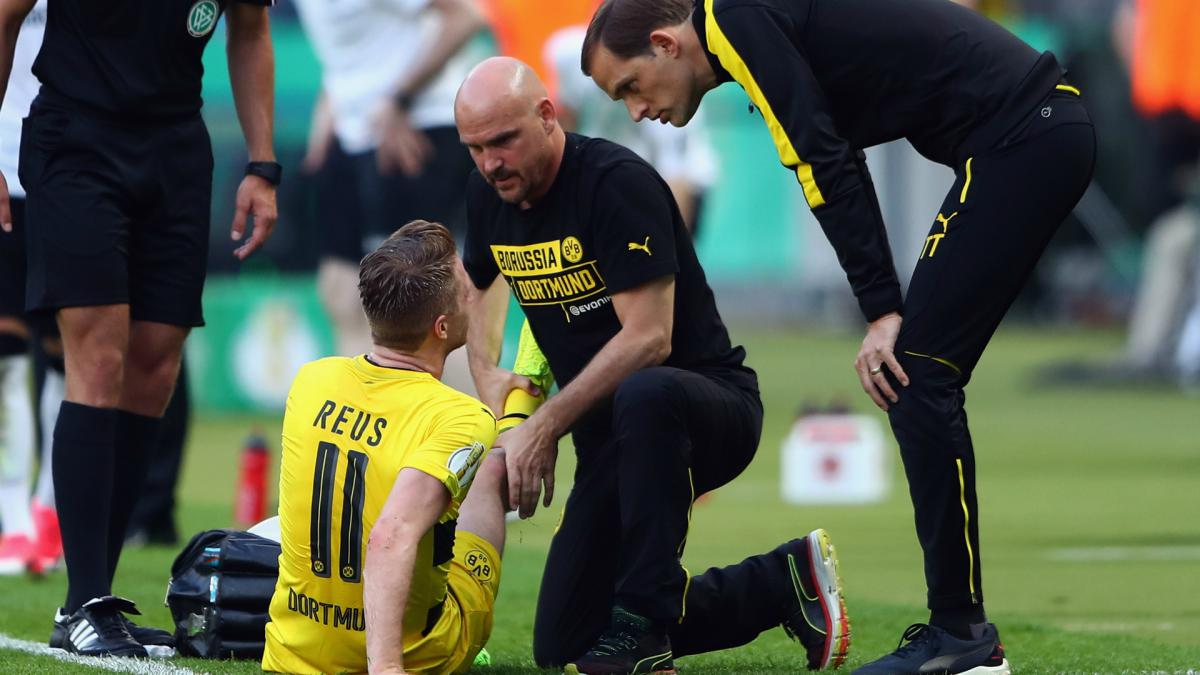 Reus: Dortmund confirm cruciate ligament damage