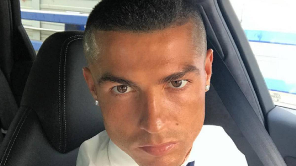 Real Madrid Cristiano Ronaldo Shows Off New Look After Champions