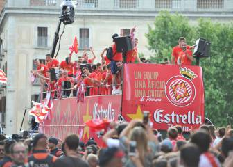 Newly-promoted Girona party like it's 2017