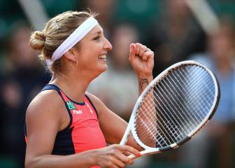 Bacsinszky 'proud' to be in second French Open semi-final