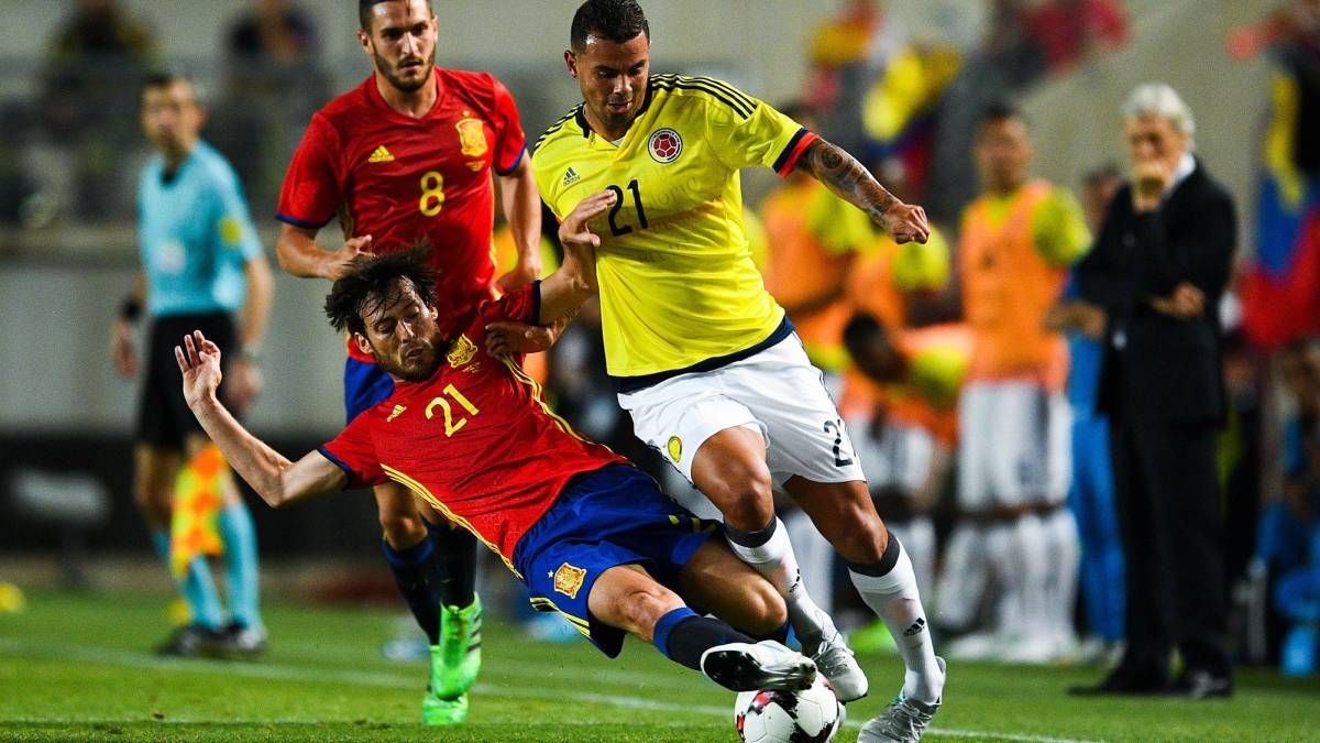 ba9f7bf4381 Spain v Colombia International friendly  Match report