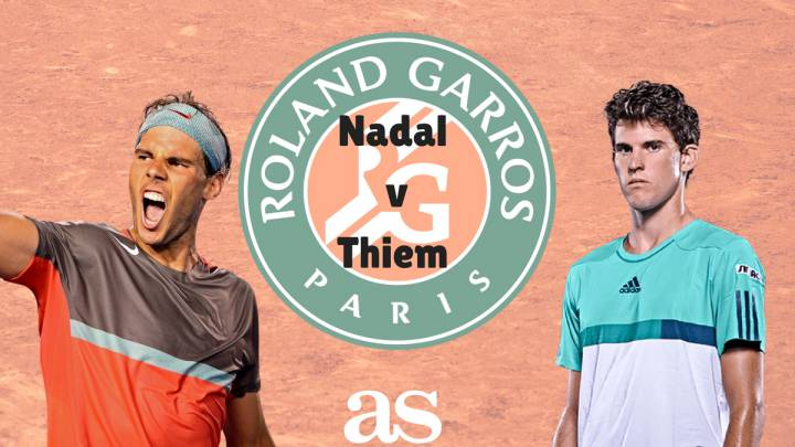 Follow Rafa Nadal vs Dominic Thiem live online, semi-final of the 2017 French Open tennis, today 9 June at 15:30 (CET) with AS English from Roland Garros