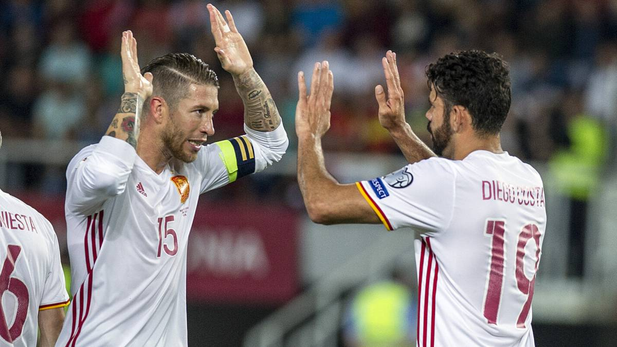 185d69479 Macedonia 1-2 Spain 2018 World Cup Group G qualifier  Report