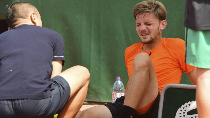 Ankle injury forces David Goffin out of Wimbledon