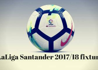 When are LaLiga Santander fixtures 2017/18 announced?