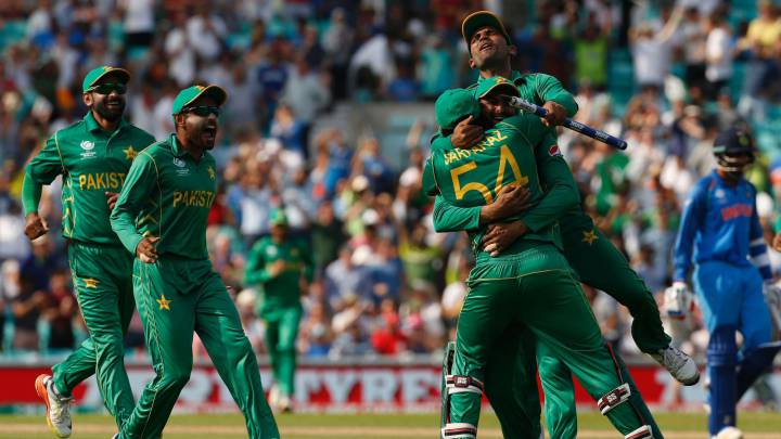 Pakistan beat India to take the ICC Champions Trophy