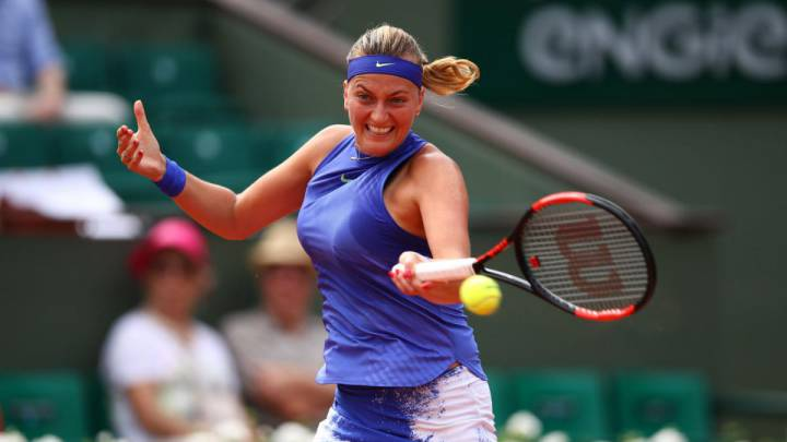 Kvitova made her comeback at the French Open after being the victim of a knife attack in her home. The Czech player is enjoying tennis more than ever.