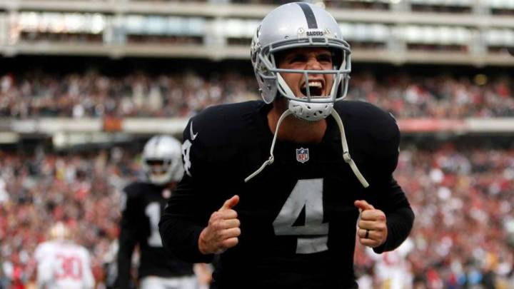 Oaklands Raiders make Derek Carr the highest paid player in NFL history