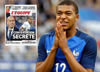 Zidane calls Mbappé with two reasons to sign for Madrid