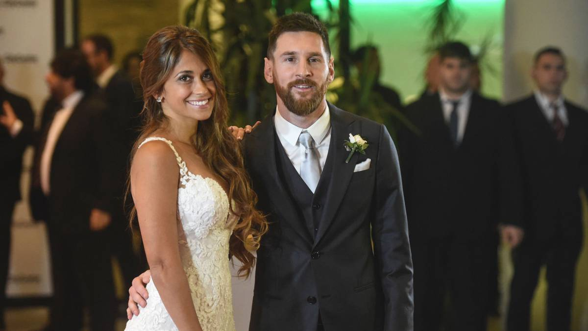 Lionel Messi Wedding Barcelona Star Married Antonella Roccuzzo On Friday Evening In Their