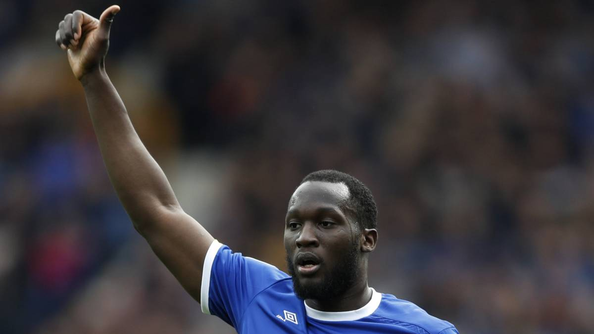 All of Romelu Lukaku's goals for Everton