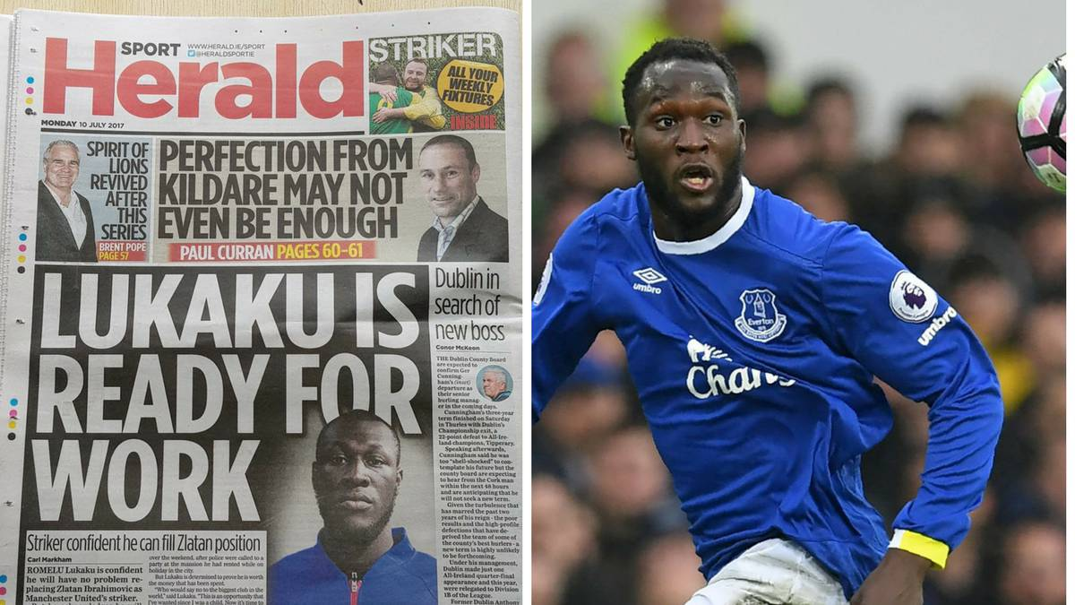 The Herald Issue Apology Over Romelu Lukaku/Stormzy Mixup