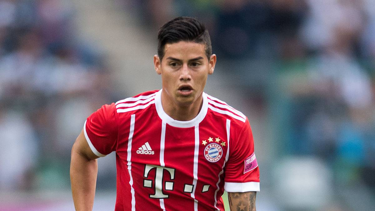James Rodriguez Makes Debut As Bayern Bag Telekom Cup