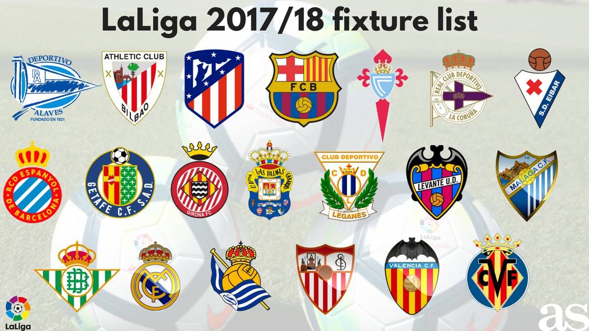 Laliga santander 201718 season fixture list how it happened as stopboris Gallery