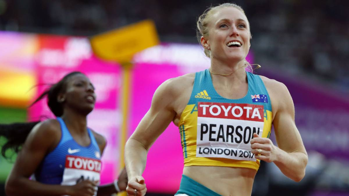 Pearson affirms comeback by coasting into 100m hurdles final
