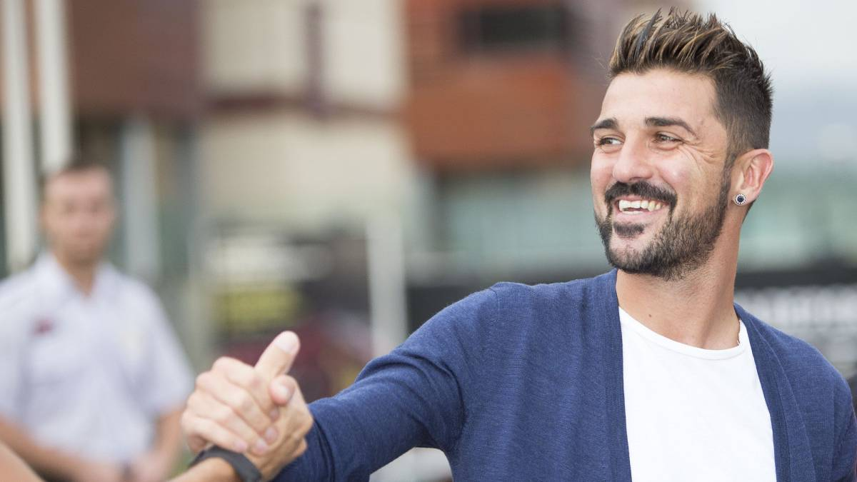 "David Villa ""Wearing the Spain shirt is the best feeling in the"