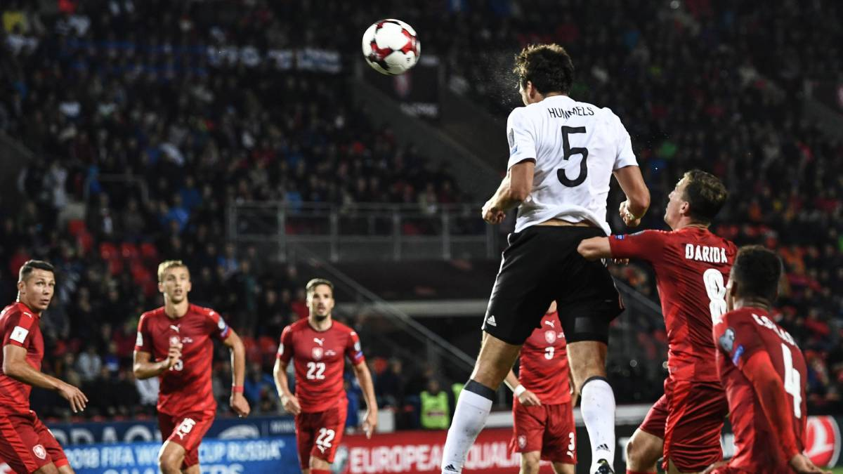 7e9219ee153 Czech Republic 1-2 Germany  World Cup qualifier match report
