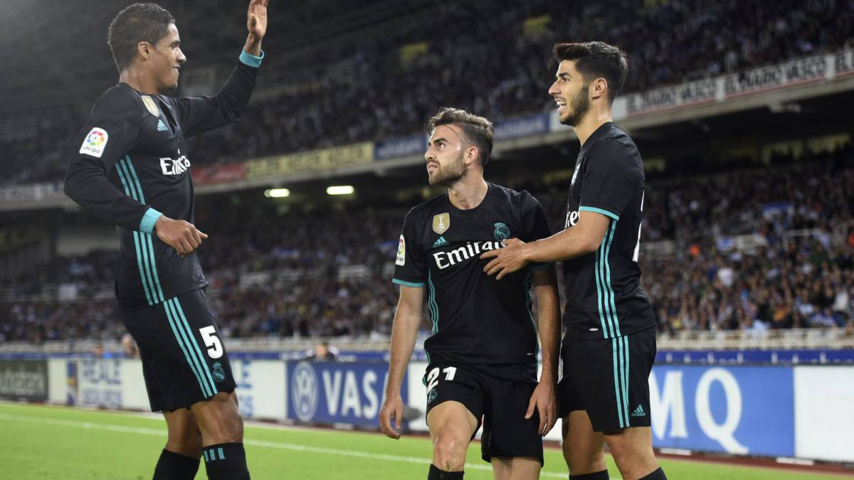 Real Sociedad 1-3 Real Madrid LaLiga 2017-18: match report, goals, action