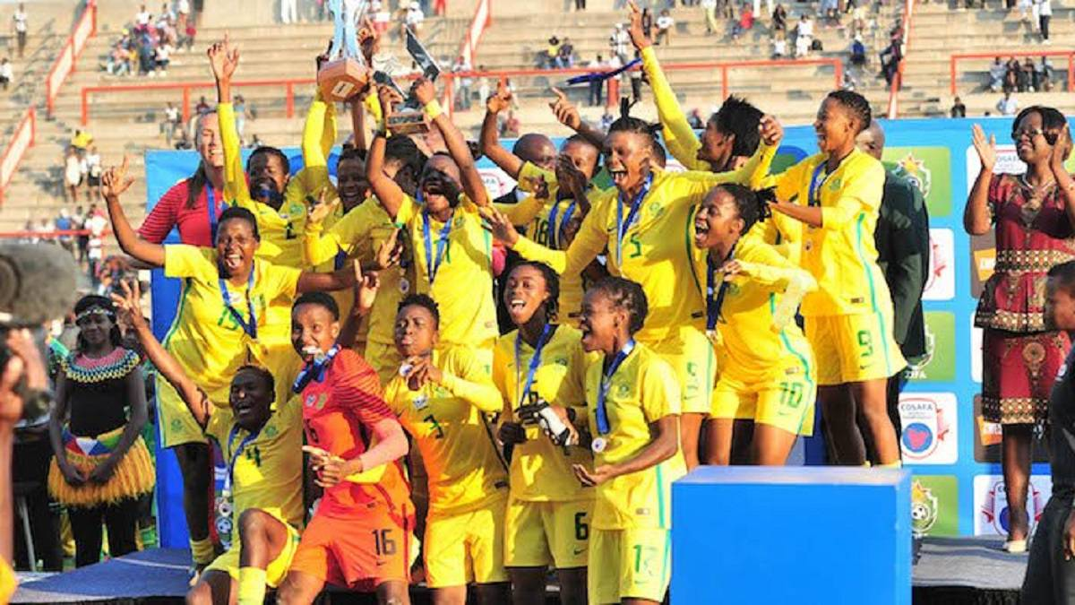 South Africa win 2017 Cosafa Women's Championship