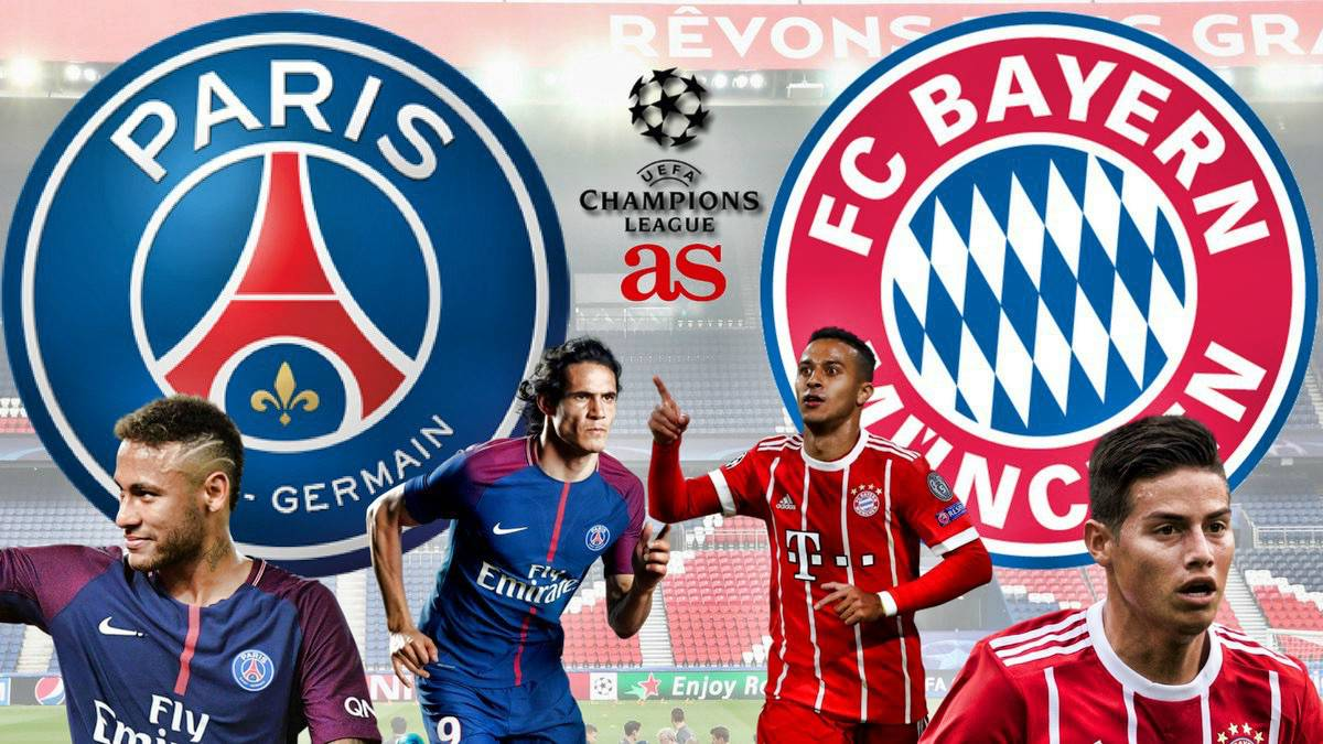 Psg Vs Bayern Munich Live Stream Online Champions League As