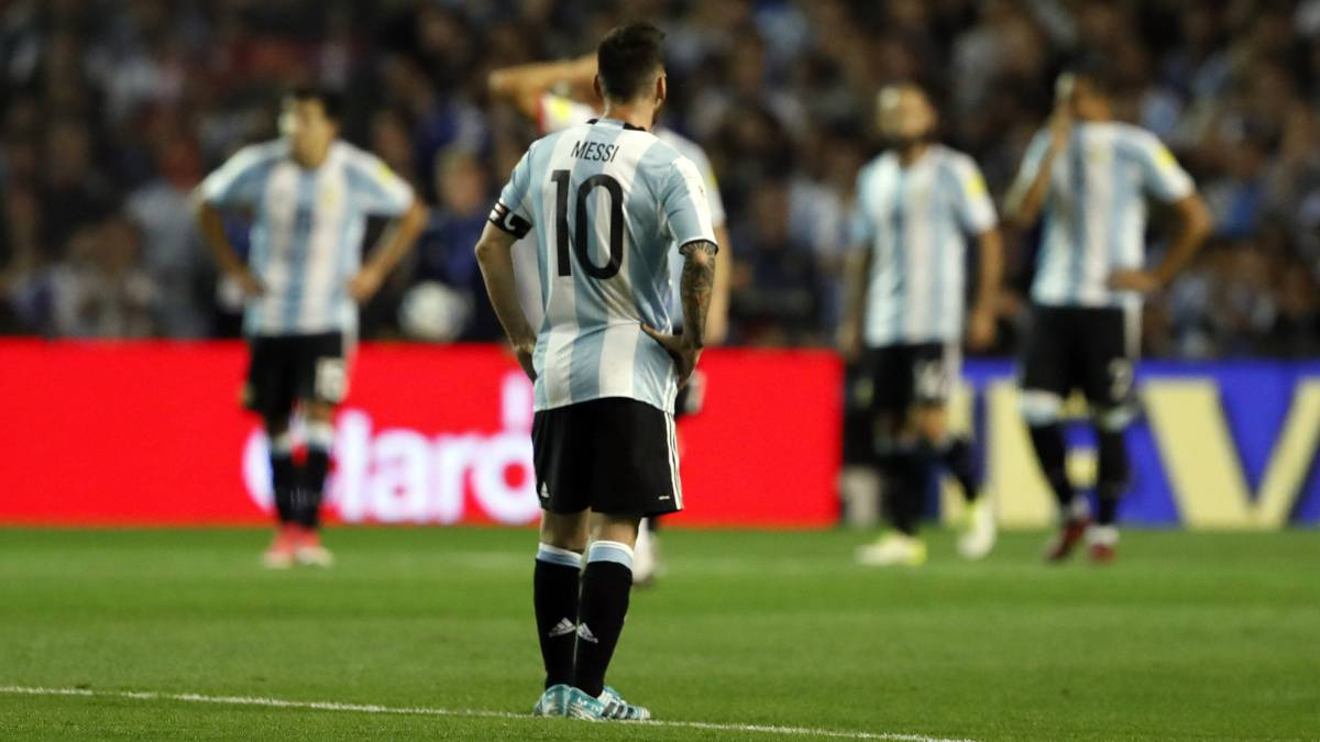 The State Of The Ecuador Pitch Makes For Bad Viewing For Argentina