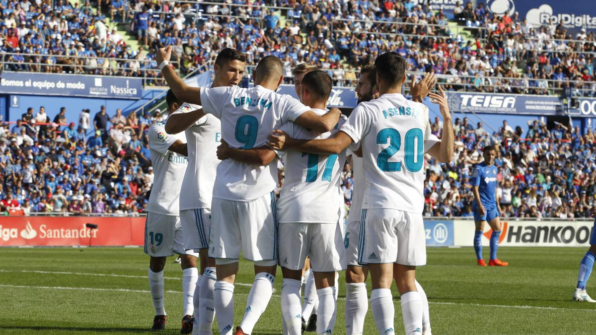 Getafe CF vs Real Madrid live streaming free